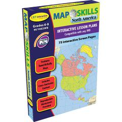 LORENZ / MILLIKEN MAP SKILLS NORTH AMERICA INTERACTIVE WHITEBOARD SOFTWARE