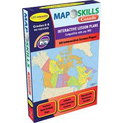 LORENZ / MILLIKEN MAP SKILLS CANADA INTERACTIVE WHITE BOARD SOFTWARE