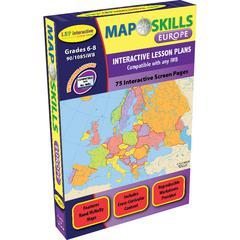 LORENZ / MILLIKEN MAP SKILLS EUROPE INTERACTIVE WHITE BOARD SOFTWARE