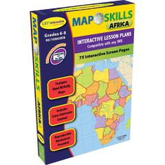 LORENZ / MILLIKEN MAP SKILLS AFRICA INTERACTIVE WHITE BOARD SOFTWARE