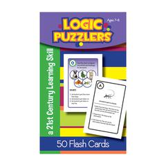 LOGIC PUZZLERS FLASH CARDS GR 2