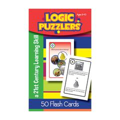 LORENZ / MILLIKEN LOGIC PUZZLERS FLASH CARDS GR 4