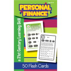 LORENZ / MILLIKEN PERSONAL FINANCE FLASH CARDS GR 3