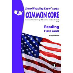 LORENZ / MILLIKEN READING GR 8 SHOW WHAT YOU KNOW ON THE COMMON CORE FLASH CARDS