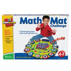 LEARNING RESOURCES MATH MAT CHALLENGE GAME GR PK & UP