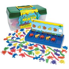 LEARNING RESOURCES TACKLE BOX SORTING SET