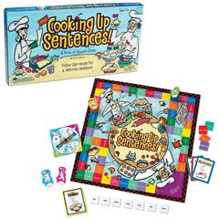 LEARNING RESOURCES COOKING UP SENTENCES PARTS OF SPEECH GAME
