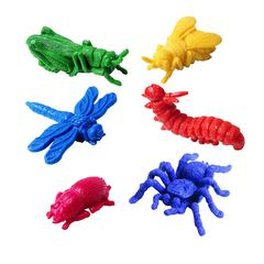LEARNING RESOURCES COUNTERS BACKYARD BUGS 72-PK