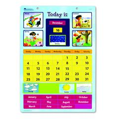 MAGNETIC LEARNING CALENDAR 12 X 16-1/2