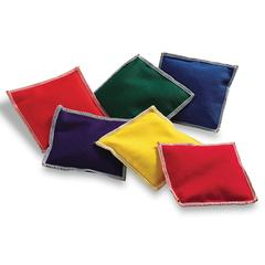LEARNING RESOURCES BEAN BAGS RAINBOW 6/PK