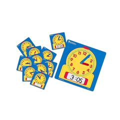 LEARNING RESOURCES WRITE-ON/WIPE-OFF CLOCKS CLASS SET 1 OF 0573 & 24 OF 0572