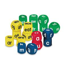 LEARNING RESOURCES PHONICS CUBES CLASS PK SET 1 EACH 0586-0588