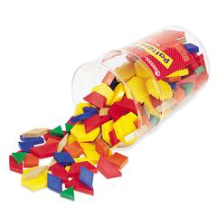 LEARNING RESOURCES PATTERN BLOCKS PLASTIC 1CM 250/PK