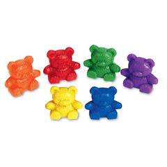 LEARNING RESOURCES COUNTERS BABY BEAR 6 COLORS 102-PK