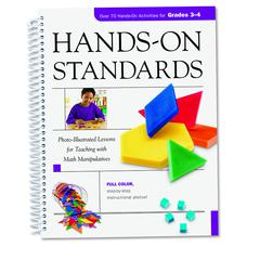 LEARNING RESOURCES HANDS ON STANDARDS MATH GR 3-4