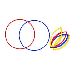 LEARNING RESOURCES GROUPING CIRCLES 6/PK 20 DIAMETER 2EA RED BLUE AND YELLOW