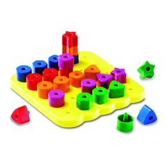 LEARNING RESOURCES GEO SHAPES PEG BOARD