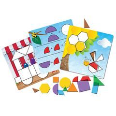 LEARNING RESOURCES SHAPES DONT BUG ME GEOMETRY ACTIVITY SET