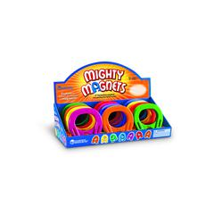 LEARNING RESOURCES POP DISPLAY HORSESHOE SHAPED MIGHTY MAGNETS 12/SET