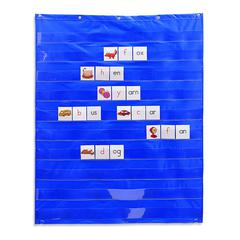 LEARNING RESOURCES STANDARD POCKET CHART 33.5 X 42