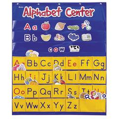 LEARNING RESOURCES ALPHABET INTERACTIVE POCKET CHART