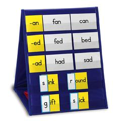 LEARNING RESOURCES TABLETOP POCKET CHART SINGLE