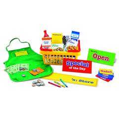 LEARNING RESOURCES PRETEND & PLAY SUPERMARKET 93 PCS SET