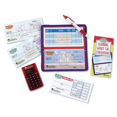 LEARNING RESOURCES PRETEND & PLAY CHECKBOOK W/ CALCULATOR