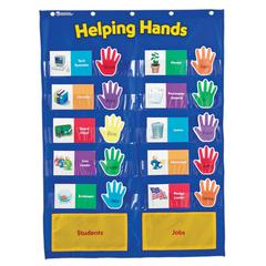 POCKET CHART HELPING HANDS
