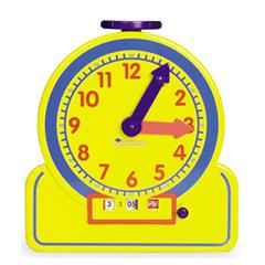 LEARNING RESOURCES THE PRIMARY TIME TEACHER JUNIOR 12 HOUR LEARNING CLOCK