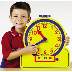 LEARNING RESOURCES THE PRIMARY TIME TEACHER 12 HOUR TEACHING CLOCK