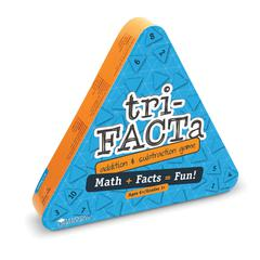 LEARNING RESOURCES TRI FACTA  ADDITION AND SUBTRACTION GAME