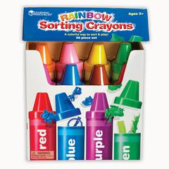 LEARNING RESOURCES RAINBOW SORTING CRAYON