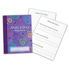 LEARNING RESOURCES MAKE A STORY WRITING JOURNAL 10/SET