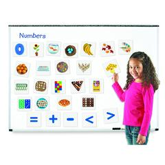 LEARNING RESOURCES DOUBLE SIDED MAGNETIC NUMBERS