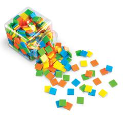 SQUARE TILES BRIGHTS SET OF 400