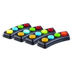 LEARNING RESOURCES ANSWER LIGHTS SET OF 4 BARS AND ACTIVITY GUIDE