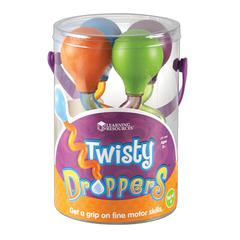 LEARNING RESOURCES TWISTY DROPPERS SET OF 4
