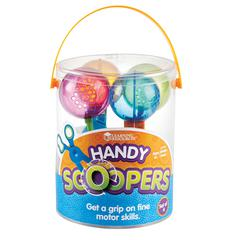 LEARNING RESOURCES HANDY SCOOPERS SET OF 4
