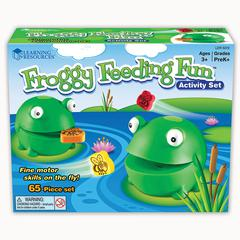 LEARNING RESOURCES FROGGY FEEDING FRENZY