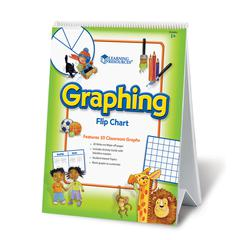 LEARNING RESOURCES FLIP CHART GRAPHING