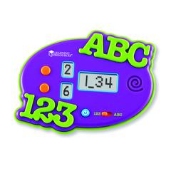 LEARNING RESOURCES ABCS & 123S ELECTRONIC FLASH CARD