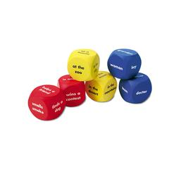 LEARNING RESOURCES SOFT FOAM STORY STARTER WORD CUBES