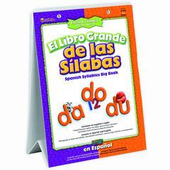 LEARNING RESOURCES EL LIBRO GRANDE DE LAS SILABAS SPANISH SYLLABLES BIG BOOK