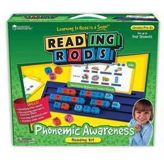 READING RODS PHONEMIC AWARENESS KIT GR PK& UP