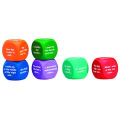 LEARNING RESOURCES WRITING PROMPT CUBES