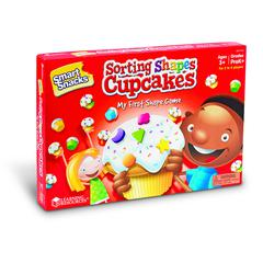 LEARNING RESOURCES SMART SNACKS SORTING SHAPE CUPCAKES GAME