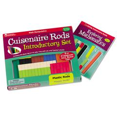 LEARNING RESOURCES CUISENAIRE RODS INTRO SET 74/PK PLASTIC