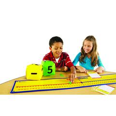 LEARNING RESOURCES POSITIVE & NEGATIVE NUMBER LINE ACTIVITY SET