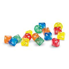LEARNING RESOURCES 10 SIDED DICE IN DICE